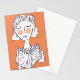 Reading Jane Austen is always a good idea. Stationery Cards