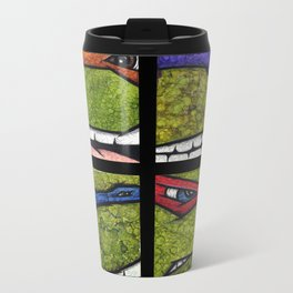 Teenage Mutant Ninja Turtles Set Metal Travel Mug