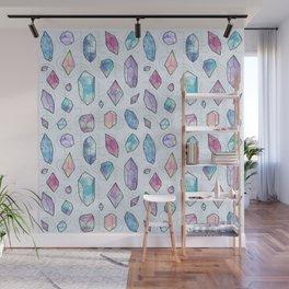 Healing Crystals Wall Mural
