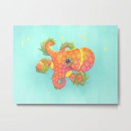 Sweeture: Octopineapple Metal Print