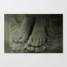 StoneFeet2 Canvas Print