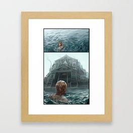 The Mansion Framed Art Print
