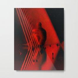 Lasered Metal Print