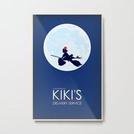 Kiki's Delivery Service Metal Print