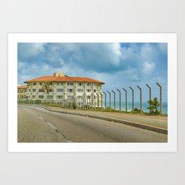 Waterfront Elegant Hotel Natal Brazil Art Print