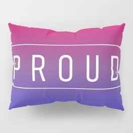 Bisexual Flag v2 - Pride Pillow Sham