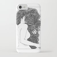 apollonia iPhone & iPod Cases featuring asc 590 - Le peigne (Combing her hair) by From Apollonia with Love