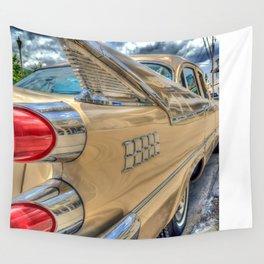 Vintage Car Wall Tapestry