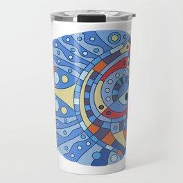 Fish art 21.4 Travel Mug