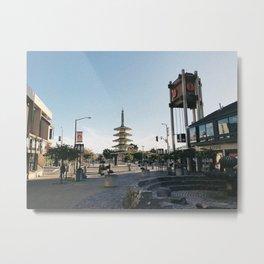 JAPANTOWN Metal Print