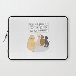 We're All Beautiful Cats Laptop Sleeve