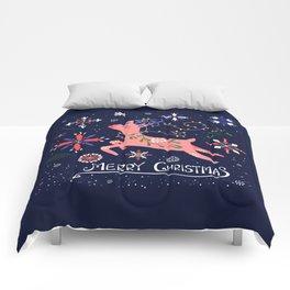 Happy Deer Card Comforters