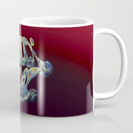 Faux Real - Red - This is Not Typography Coffee Mug