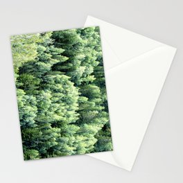 Flying over the forest Stationery Cards