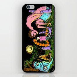 Camp out iPhone Skin