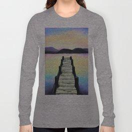 Tranquility lake Long Sleeve T-shirt