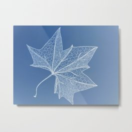 Architecture of leaves Metal Print