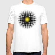 PULSATIONS Mens Fitted Tee SMALL White