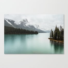 Landscape Photography Maligne Lake Canvas Print