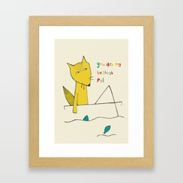 You are my bestest pal Framed Art Print