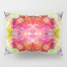 Abstract bold colors modern kaleidoscope pattern Pillow Sham