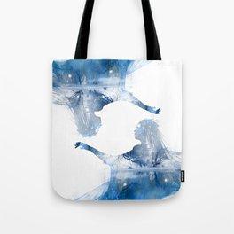 Winter Echo Tote Bag
