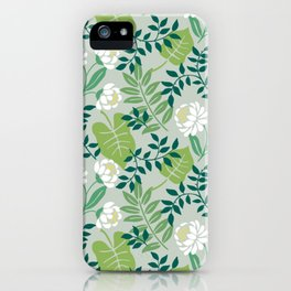 Leafy Floral iPhone Case