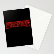 Stranger Things Promise Stationery Cards
