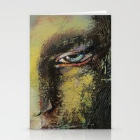 shiva Stationery Cards featuring Shiva by Michael Creese