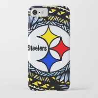 steelers iPhone & iPod Cases featuring New Tribal Steelers by Lonica Photography & Poly Designs