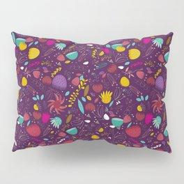 purple seeds Pillow Sham
