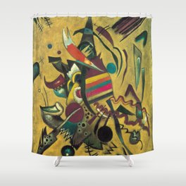 Wassily Kandinsky - Points Shower Curtain