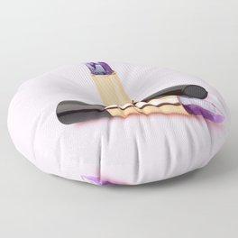 LIPSTICK QUARTZ Floor Pillow