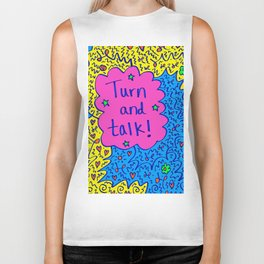 Turn and talk! Biker Tank
