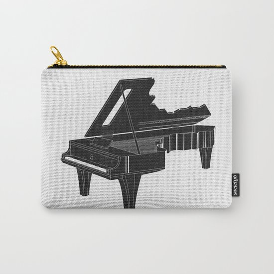 Music Is The Key B Carry-All Pouch