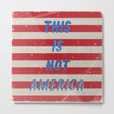This is not America - A Hell Songbook Edition Metal Print