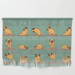 Pug Yoga Wall Hanging