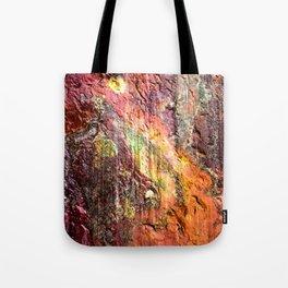 Colorful Nature : Texture Warm Tones Tote Bag
