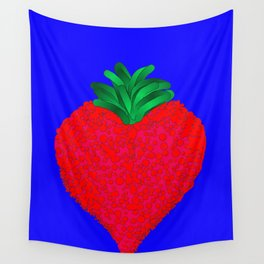 Red Berry Wall Tapestry