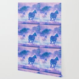 Horses run Wallpaper