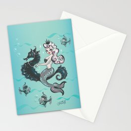Pearla on Seahorse Stationery Cards