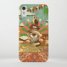 AFTERNOON PSYCHEDELIA iPhone Case