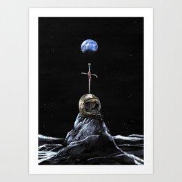 in memoriam. Luna_ Art Print