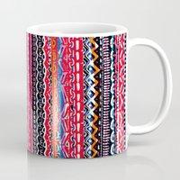 batik Mugs featuring Batik Attack by RAMALAMA