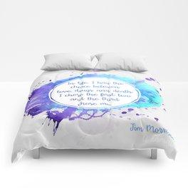 Jim Morrison's quote Comforters