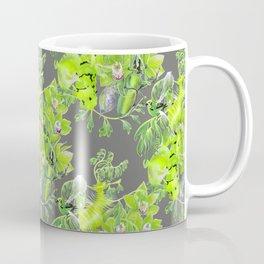 Chartreuse pattern Coffee Mug