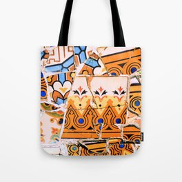 Gaudi Series - Parc Güell No. 4 Tote Bag