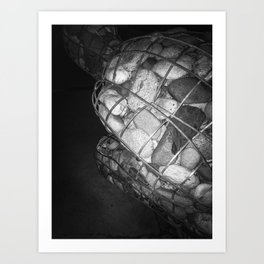 rocks.Within Art Print
