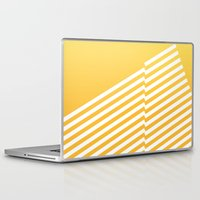 bands Laptop & iPad Skins featuring Yellow Bands R. by blacknote