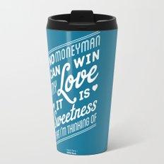 One Hit Wonder- Buffalo Stance, Blue Travel Mug